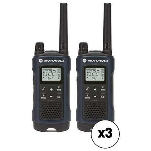Motorola T460 Two-Way Radio Kit (6-Pack)