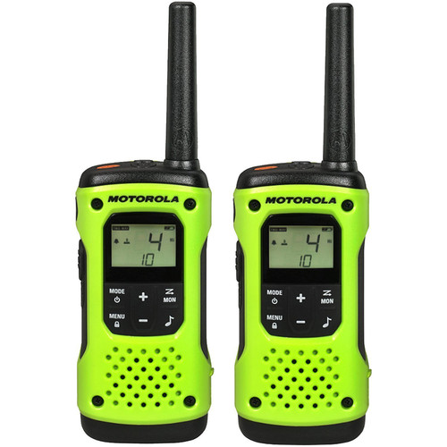 Motorola T605 H20 Two-Way Radio with Carrying Case