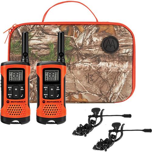 Motorola T265 Two-Way Radio (Orange, 2-Pack)