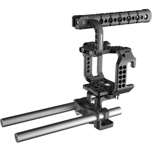 Mottus Blackmagic Micro Cinema Camera Cage Kit