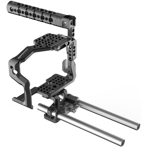 Mottus GH4 Cage with Top Handle & 15mm Rods