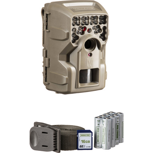 Moultrie M-4000i Trail Camera Bundle with Batteries & SD Card