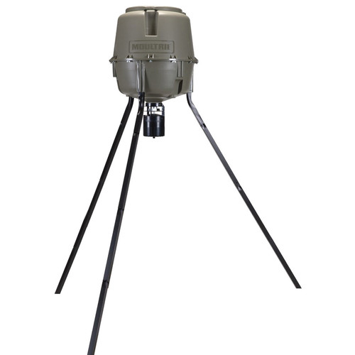 Moultrie 30-Gallon Pro Lock Tripod Deer Feeder
