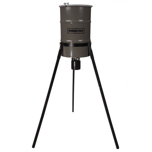 Moultrie Pro Hunter Tripod Deer Feeder (30 Gallons)