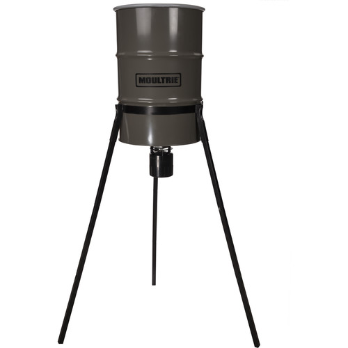 Moultrie Pro Hunter Tripod Deer Feeder (55 Gallons)