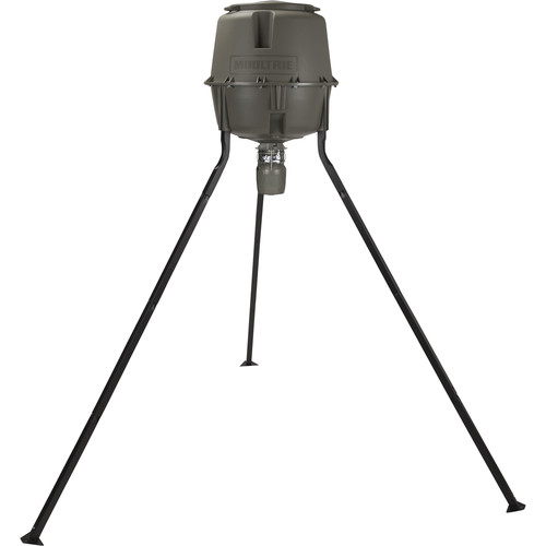 Moultrie Deer Feeder Unlimited Tripod (30 Gallons)