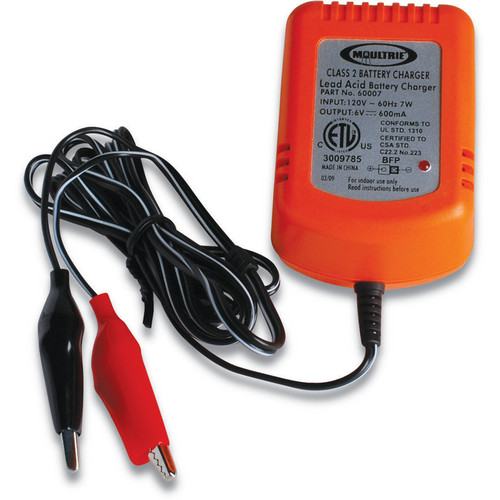 Moultrie 6V Float Battery Charger