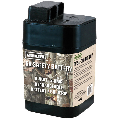 Moultrie 6 Volt Rechargeable Safety Battery