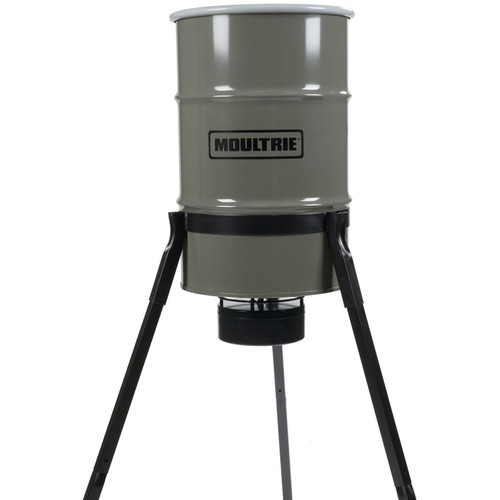 Moultrie Pro Magnum Tripod Deer Feeder (30 Gallons)