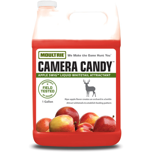 Moultrie Camera Candy Apple Swig Liquid Whitetail Attractant