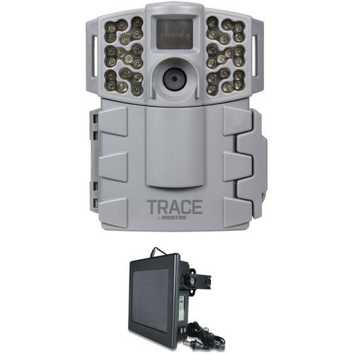 Moultrie TRACE Premise Pro Digital Surveillance Camera & Solar Panel Kit