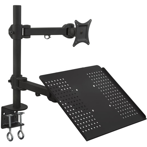 Mount-It! Combination Laptop and Monitor Desk Mount