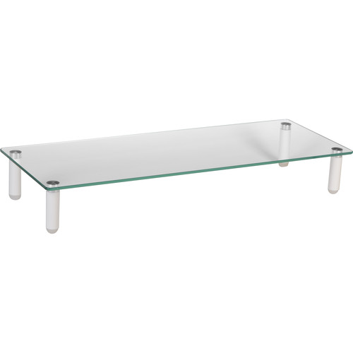 Mount-It! MI-7263 Traditional Glass Computer Monitor Stand