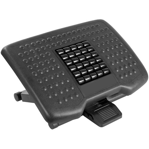 Mount-It! Adjustable Footrest with Massaging Rollers