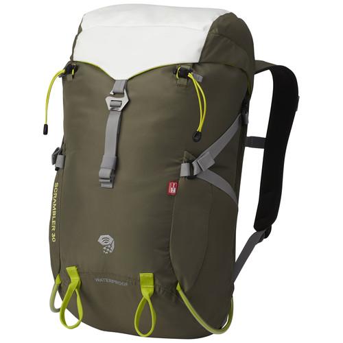Mountain Hardwear Scrambler 30 OutDry Backpack (Stone Green)