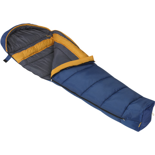 Mountain Trails Juniper 30° Mummy Sleeping Bag (Blue/Grey)