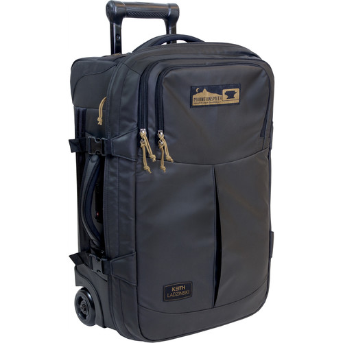 """Mountainsmith Boarding Pass FX 22"""" Rolling Camera Bag (Heritage Black)"""