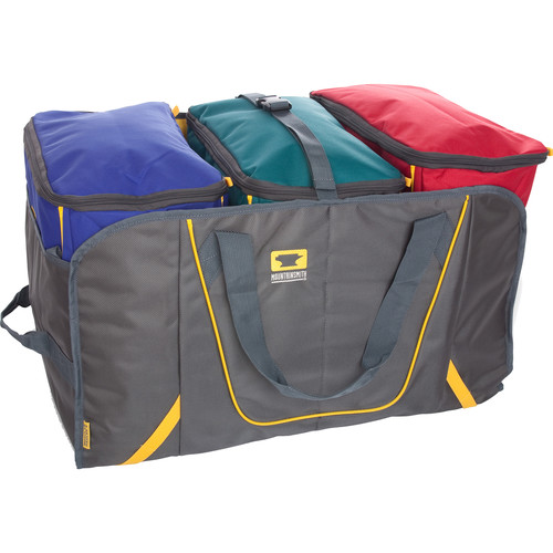 Mountainsmith Basic Cube 3-Tote Bags with Hauler B&H Kit (Black, Heritage Cobalt, Teal and Red)