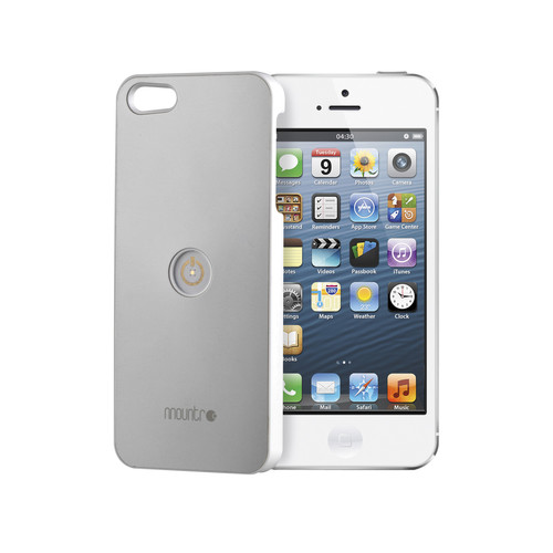 Mountr Case for iPhone 5/5s (Aluminum/Gray)