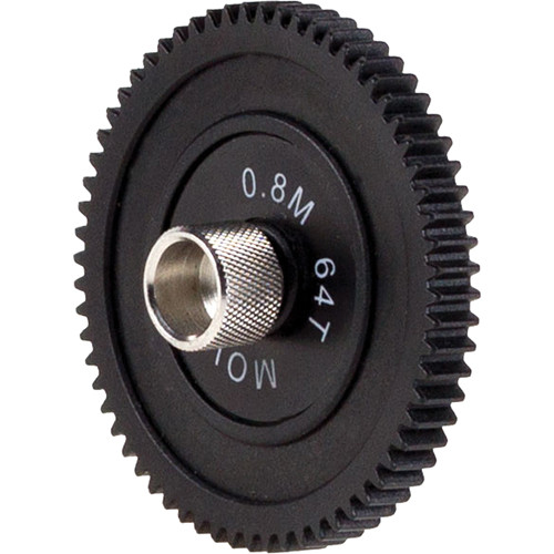 Movcam 0.8M, 64 Teeth, 6mm Face Gear for MCF-1 Follow Focus
