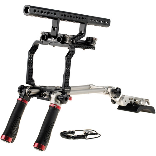 Movcam Universal LWS, Cage, and Shoulder Support Kit for Sony F5/F55