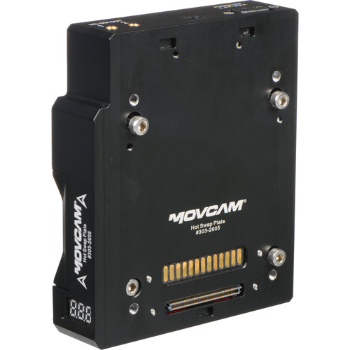 Movcam Hot Swap Plate for RED WEAPON, SCARLET-W, and RAVEN Cameras