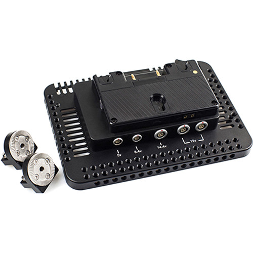 Movcam 306-0217 Power Bracket for Odyssey 7Q / 7Q+ Monitor (Gold Mount)