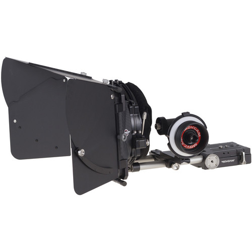 Movcam MM102 Clamp-On Mattebox & Follow Focus Kit 2 for Sony PMW-F5/-F55 4K Camcorders