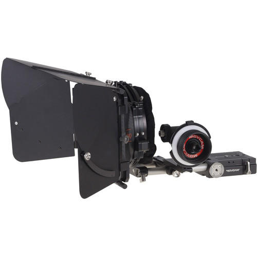 Movcam MM1 Mattebox & Follow Focus Kit 2 for Sony PMW-F5/-F55 4K Camcorders