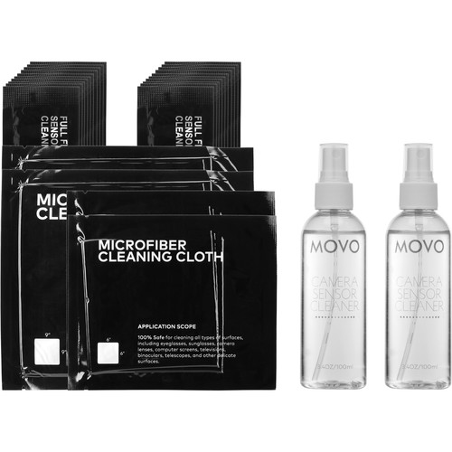 Movo Photo Primary Essentials DSLR Camera Cleaning Kit