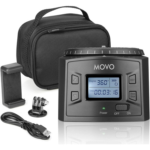 Movo Photo MTP-20 Programmable Panoramic Time-Lapse Tripod Head