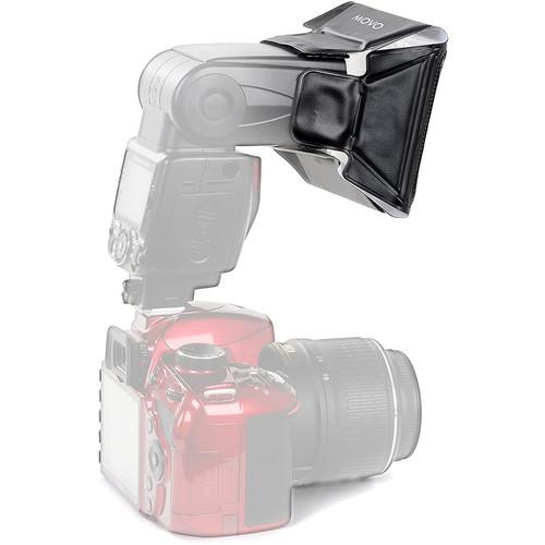 Movo Photo SB16 Universal Mini Softbox Flash Diffuser with 6 Color Gels