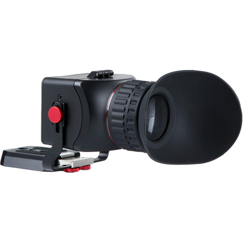 """Movo Photo Universal 3X LCD Video Viewfinder With Flip-Up Eyepiece Compatible (Fits 3-3.2"""" Screens)"""