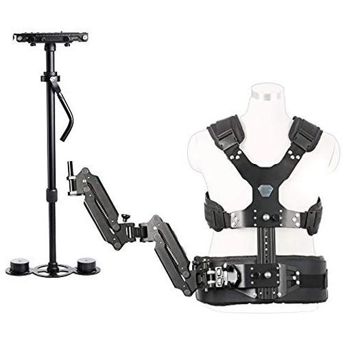 Movo Photo VS1K Steadycam Stabilizer Bundle with Arm and Body Vest