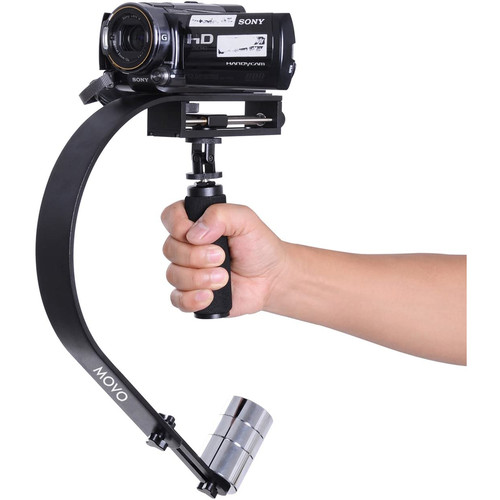 Movo Photo VS500 Pro Handheld Video Stabilizer System with Micro Balance Adjustment