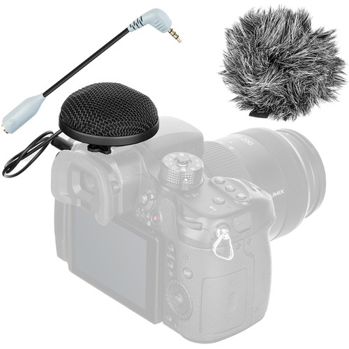 Movo Photo VXR20 Omnidirectional Condenser Video Microphone (Black)