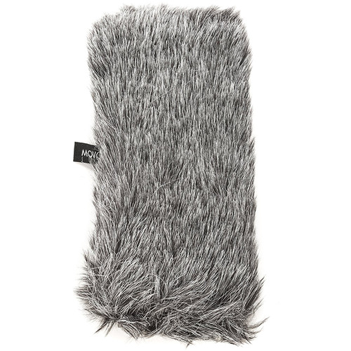 """Movo Photo WS-G3 Furry Windscreen for Mics up to 7"""" Long and 55mm in Diameter"""