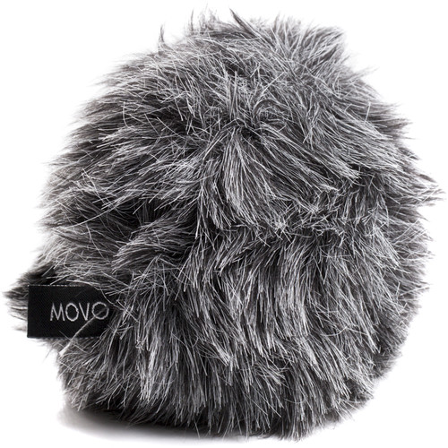 Movo Photo WS-G5 Furry Windscreen for Rode VideoMicro/VideoMic Me and Movo Photo VXR10