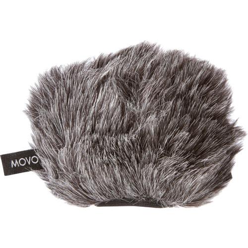 Movo Photo WS-G9 Microphone Windscreen for Portable Digital Recorders (Dark Gray)