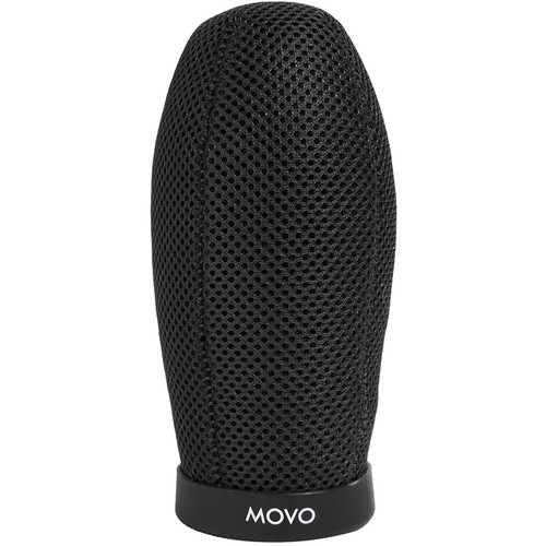 "Movo Photo WST140 Ballistic Nylon Windscreen for Shotgun Mics up to 4.7"" Long & 18-24mm Diameter"