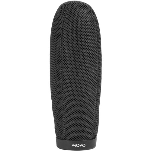 "Movo Photo WST220 Ballistic Nylon Windscreen for Shotgun Mics up to 7.9"" Long & 18-24mm Diameter"