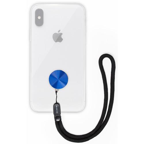 MOXYO Zigi Band Universal Smartphone Lanyard (Anodized Blue)