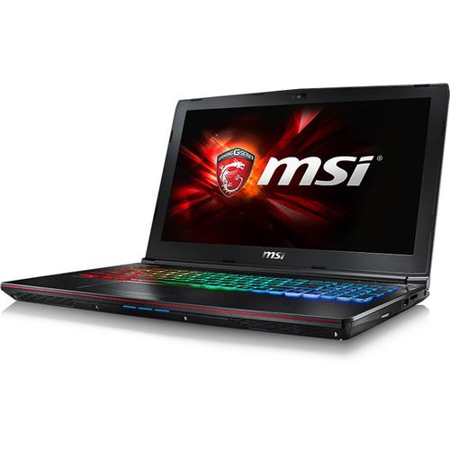 "MSI 15.6"" GE62 Apache Pro-004 Gaming Notebook (Aluminum Black)"