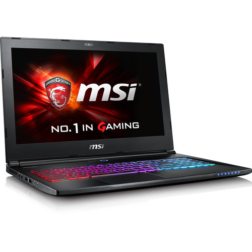 "MSI 15.6"" GS60 Ghost Pro Gaming Notebook (Aluminum Black)"