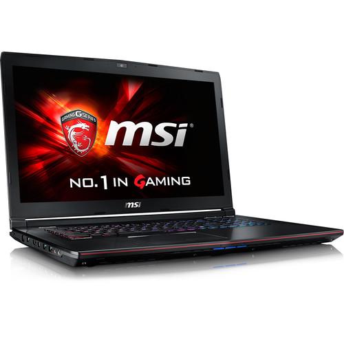 "MSI 17.3"" GE72 Apache Pro-070 Gaming Notebook (Aluminum Black)"