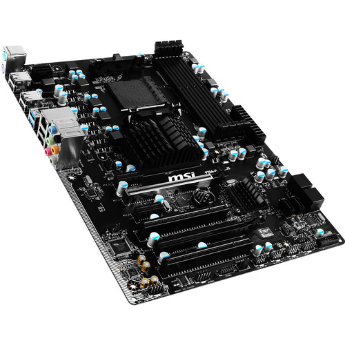 MSI 970A-G43 PLUS AM3/AM3+ ATX Motherboard