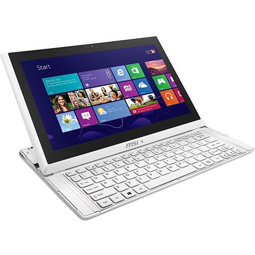 "MSI Slidebook S20 0M-048US 11.6"" Ultrabook Computer (White)"