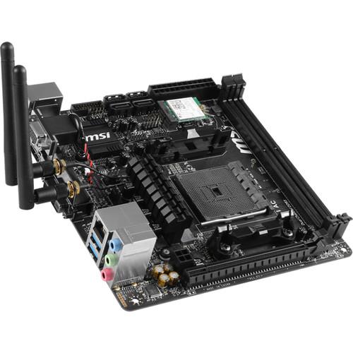 MSI A68HI AC FM2/FM2+ Mini-ITX Motherboard