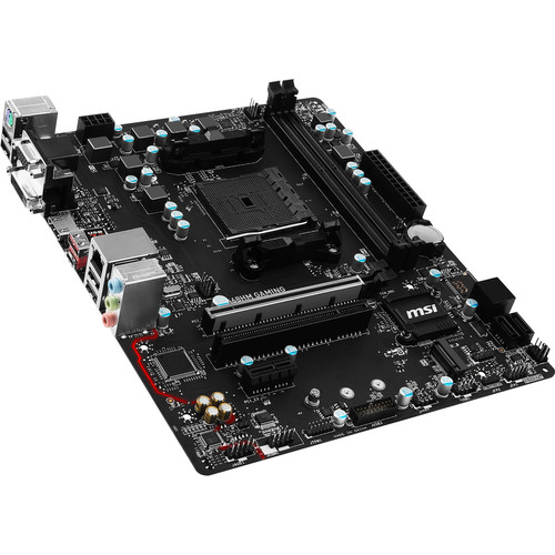 MSI A68HM AMD A68H Micro-ATX Gaming Motherboard