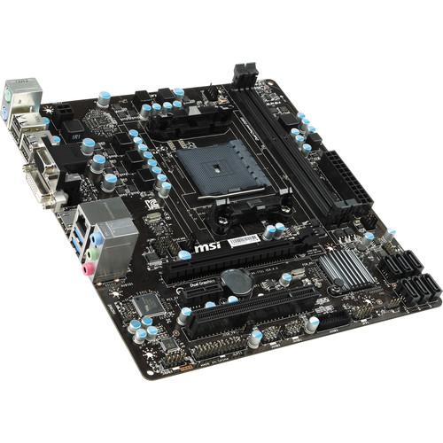 MSI A78M-E35 V2 Micro-ATX Motherboard